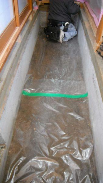 防湿 床下 白アリ リフォーム 費用