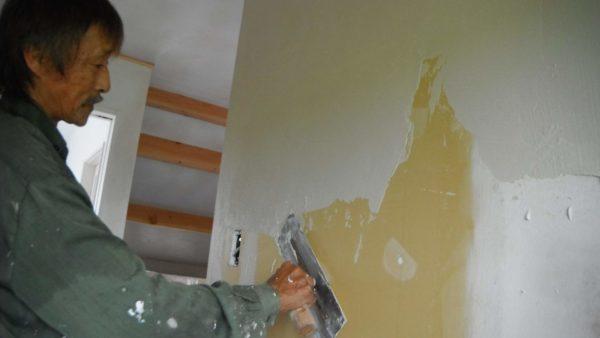 壁 内装 クロス 塗り壁 自然素材 リビング ダイニング LDK リフォーム 仙台 費用